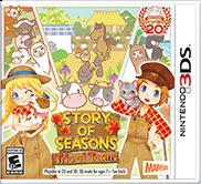 story of seasons trio of towns box art
