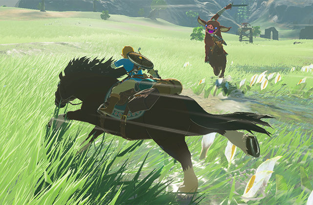 horse in breath of the wild