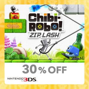 Chibi-Robo! Zip Lash Nintendo 3DS