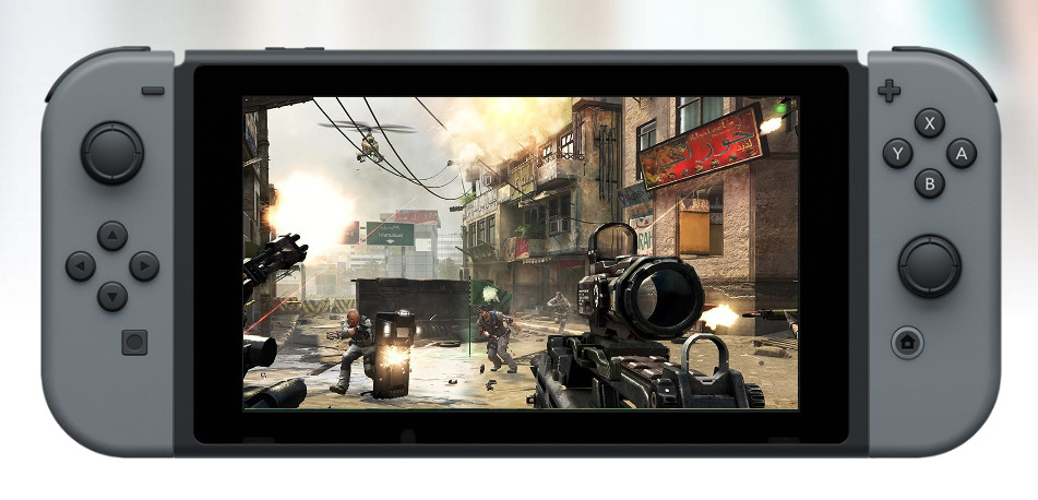 Nintendo Switch with Call of Duty
