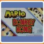 Mario vs Donkey Kong - Wii U Box Art eShop