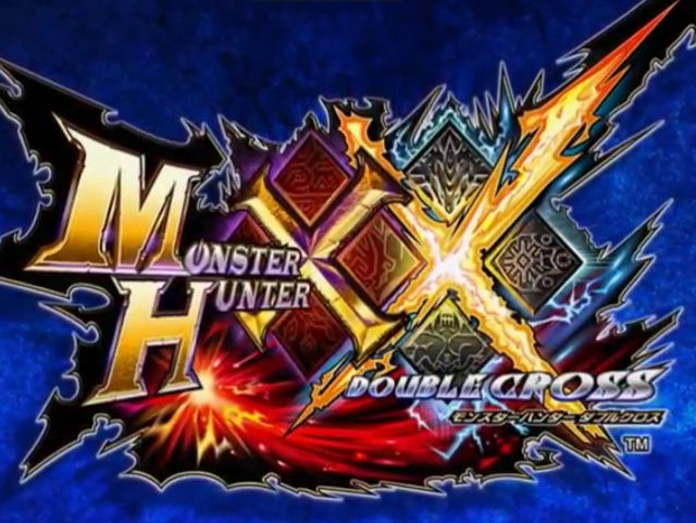 Monster Hunter XX Big Logo Background