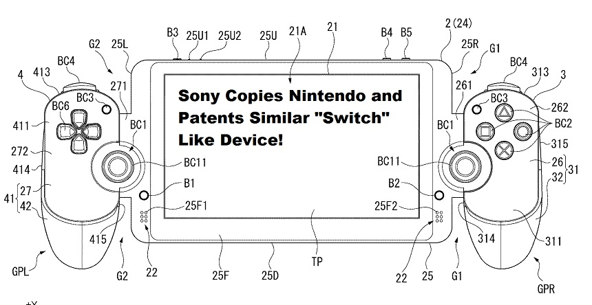 Sony Portable Patent