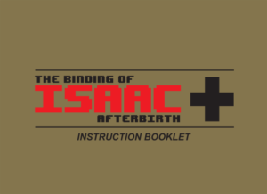 included manual for The Binding of Isaac on Nintendo Switch