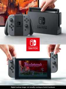 Nintendo Switch Bloodstained Preview