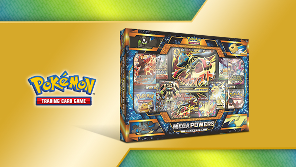 Pokemon Trading Card Game TCG Mega Powers Collection Preview