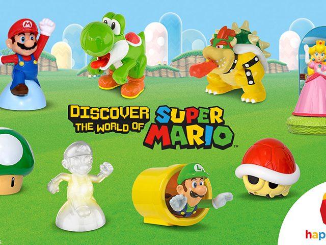 McDonald's 8 Mario Toys