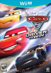 Cars 3 Driven to Win - Wii U Box Art