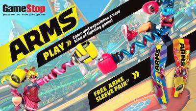 ARMS GameStop Demo