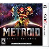 Metroid Samus Returns Box Art