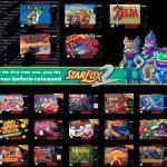 Super Nintendo Classic Edtion Game List