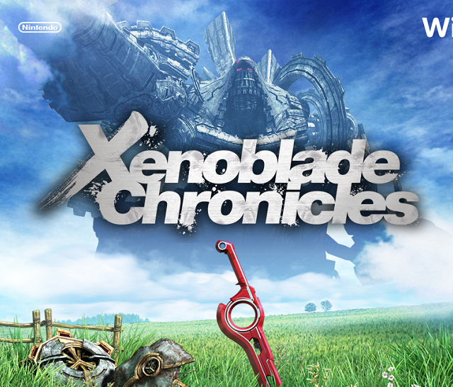 Xenoblade Chronicles for the Wii - Big Background Pic