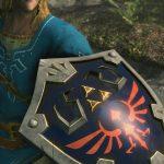 Hyrule Shield from Zelda Switch Exclusive