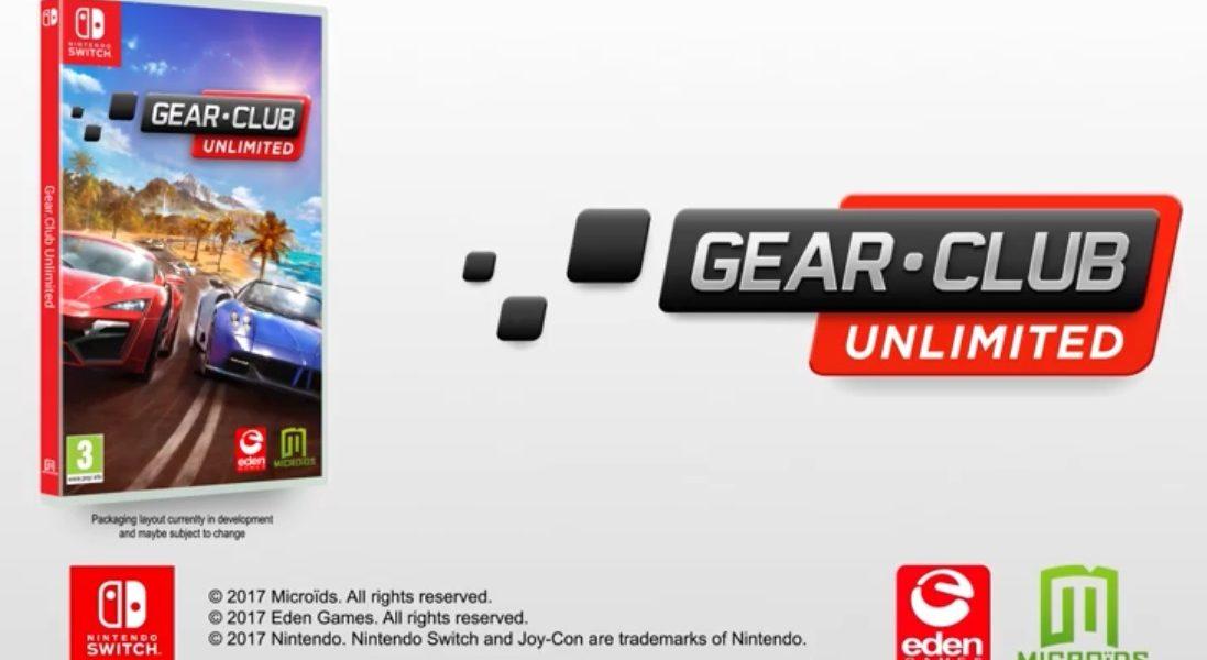 Gear. Club Unlimited Nintendo Switch
