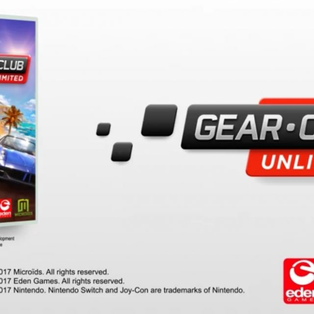 Gear. Club Unlimited Nintendo Switch