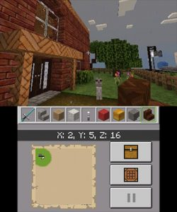 In Village Minecraft 3DS