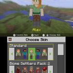 Pick a Skin Minecraft 3DS