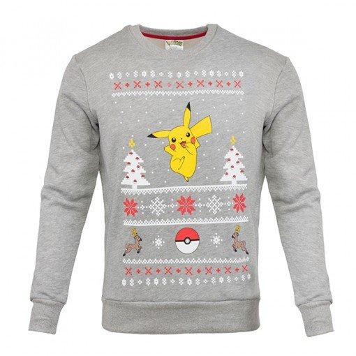Pokemon Christmas Sweater.Pokemon Pikachu Unisex Christmas Sweater Jumper Preview