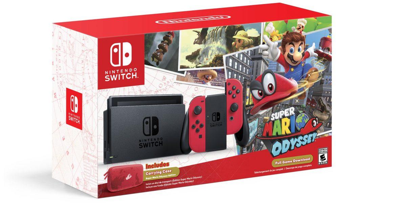 Super Mario Odyssey Special Edition Boxed