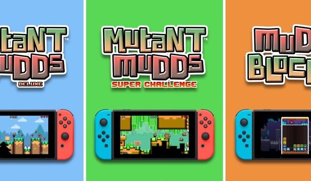 Mutant Mudds Collection Nintendo Switch
