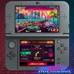 80's OVERDRIVE on the Nintendo 3DS pixel art