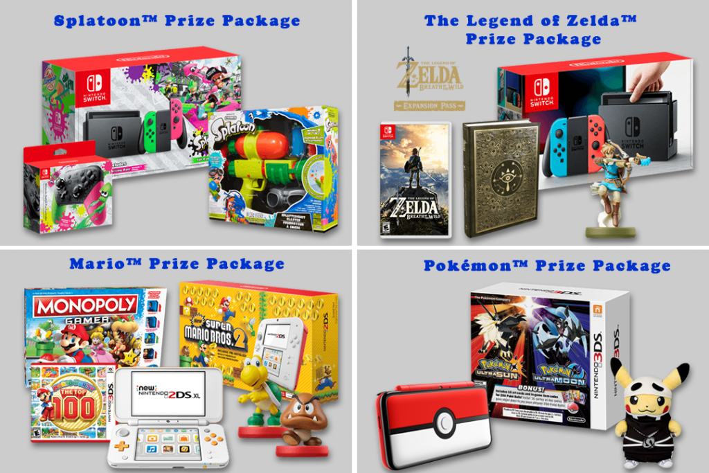Prize Packages
