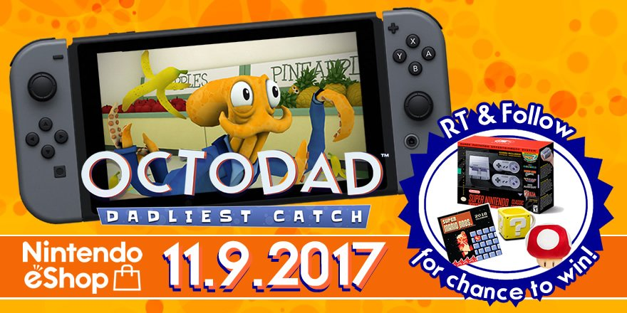 octodad dadliest catch dev announces release date twitter promotion