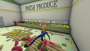 Octodad at grocery store