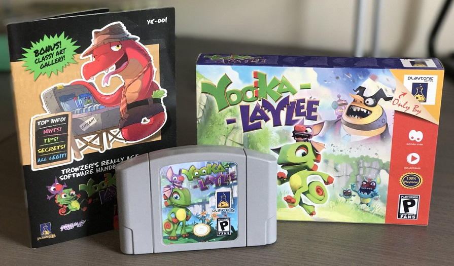 Not-for-Sale 64-bit Yooka-Laylee Edition