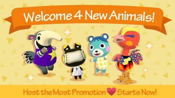 Animal Crossing: Pocket Camp new update