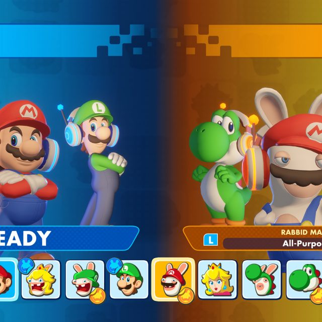 New Versus Mode in Mario + Rabbids Kingdom Battle