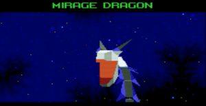 Mirage Dragon boss in Star Fox 2