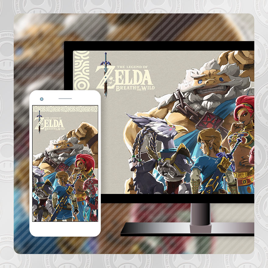 Wallpaper The Legend Of Zelda Breath Of The Wild The Champions Ballad Dlc Pack 2 Nintenfan