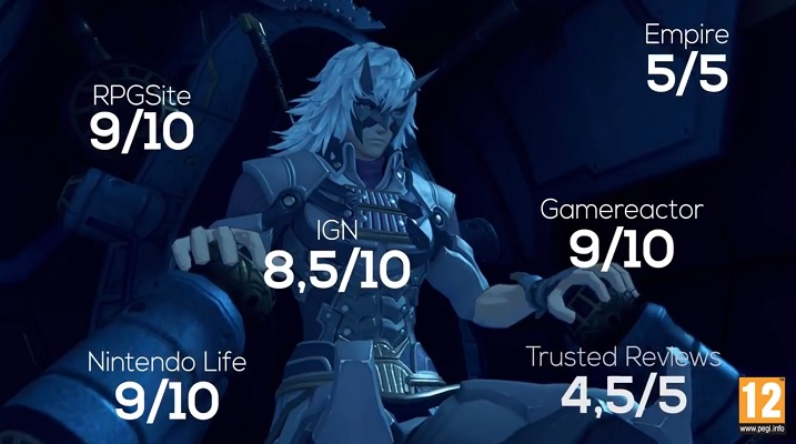Xenoblade Chronicles 2 review accolades