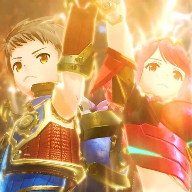 Xenoblade Chronicles 2 Rex & Girl