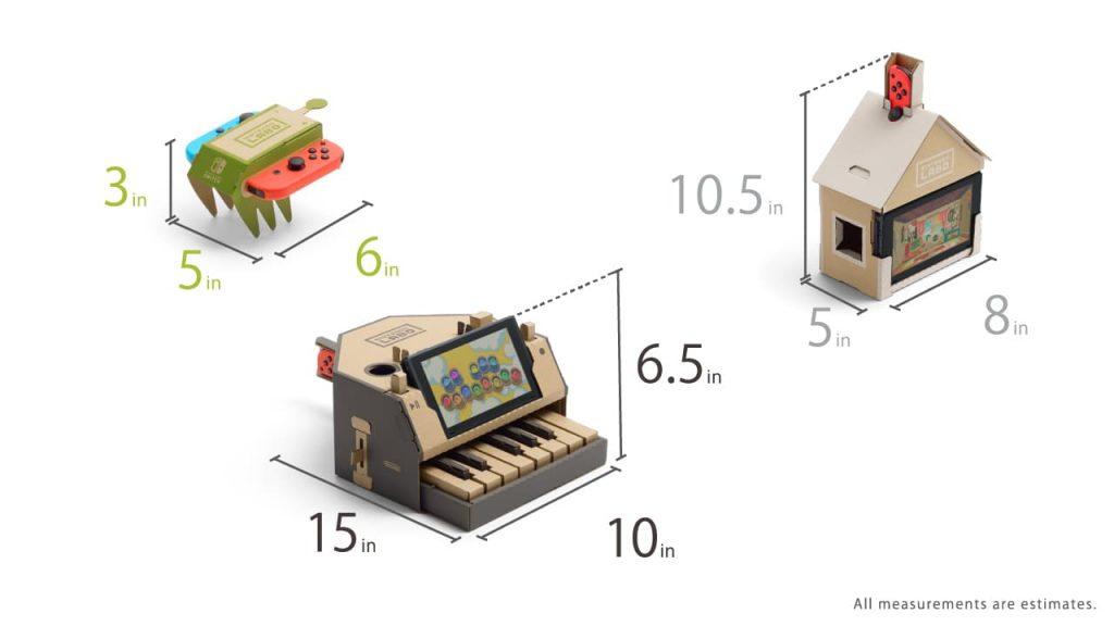Nintendo Labo Measurements