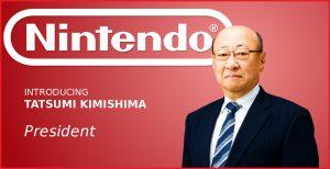 Kimishima retires as President of Nintendo