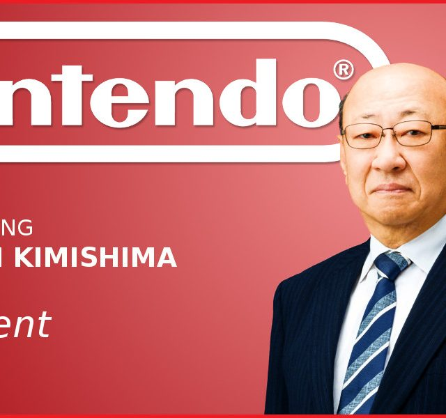Kimishima retires as President of Nintendo