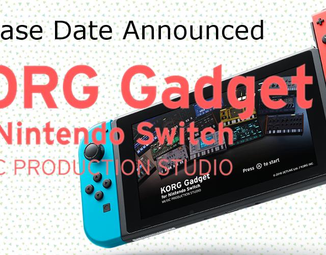 Korg Gadget Nintendo Switch release date