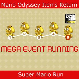 Mario Items in Super Mario Run