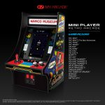 Namco Museum Mini Player with game list