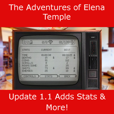 The Adventures of Elena Temple Update 1.1