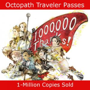JRPG & Switch Exclusive Octopath Traveler Passes 1-Million Sold