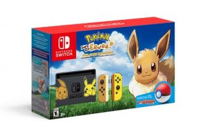 System Bundle with Pokemon Let's Go, Eevee!