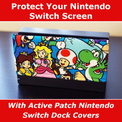 Nintendo Switch Dock Cover Scratch Protector