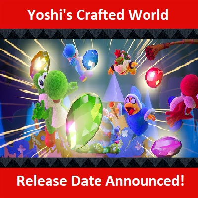 Yoshi's Crafted World, Nintendo Switc