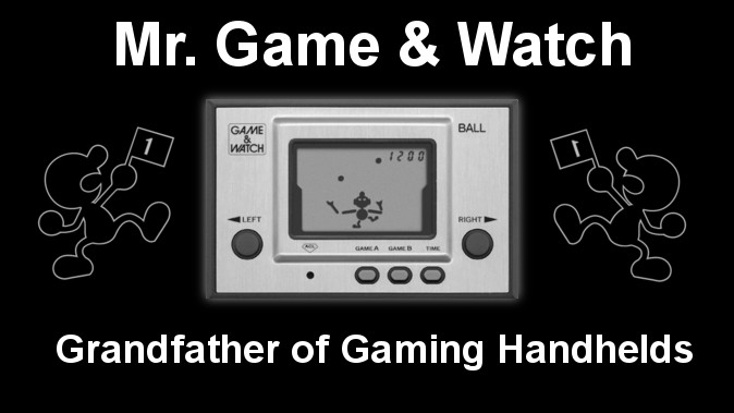 Mr. Game & Watch, Father of Handheld Gaming