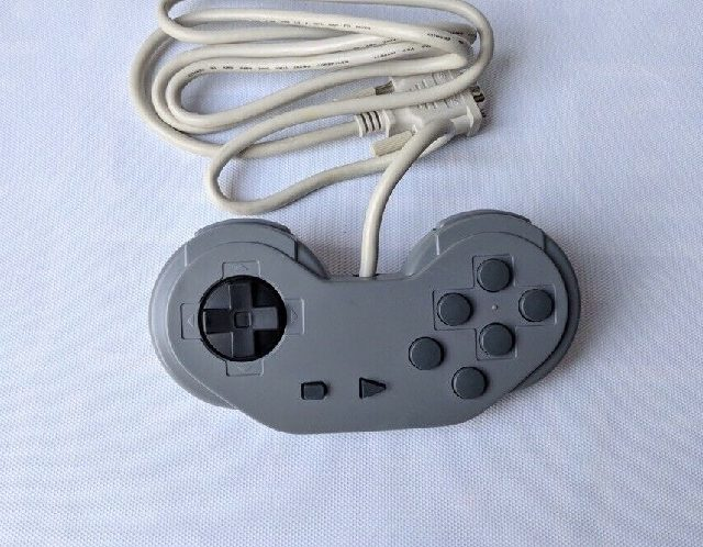Rare Super Nintendo Sony CD Attachment Controller