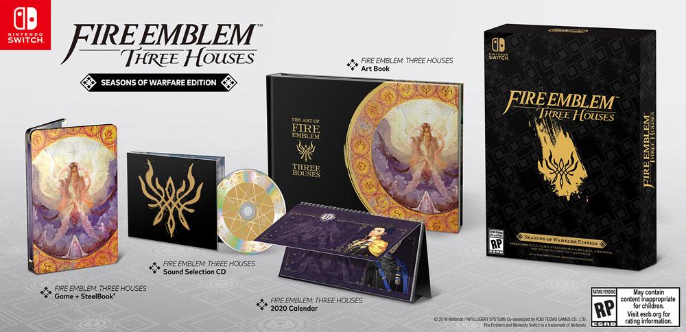 Fire Emblem Three Houses: Seasons of Warfare Edition