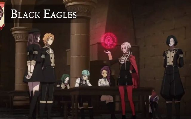 Fire Emblem Three Houses The Black Eagles Video